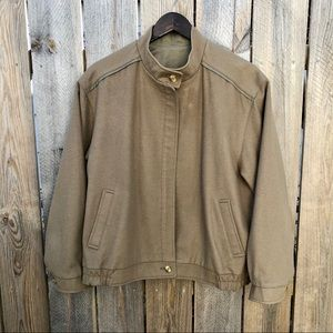 Burberry | Loden Reversible Wool Alpaca Jacket L